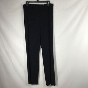 Coldwater Creek Classic Fit Black Stretch Pant 14